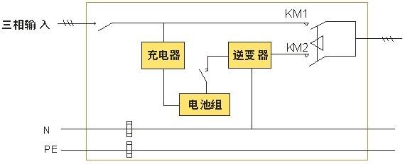 逆变焊双压转换电路图